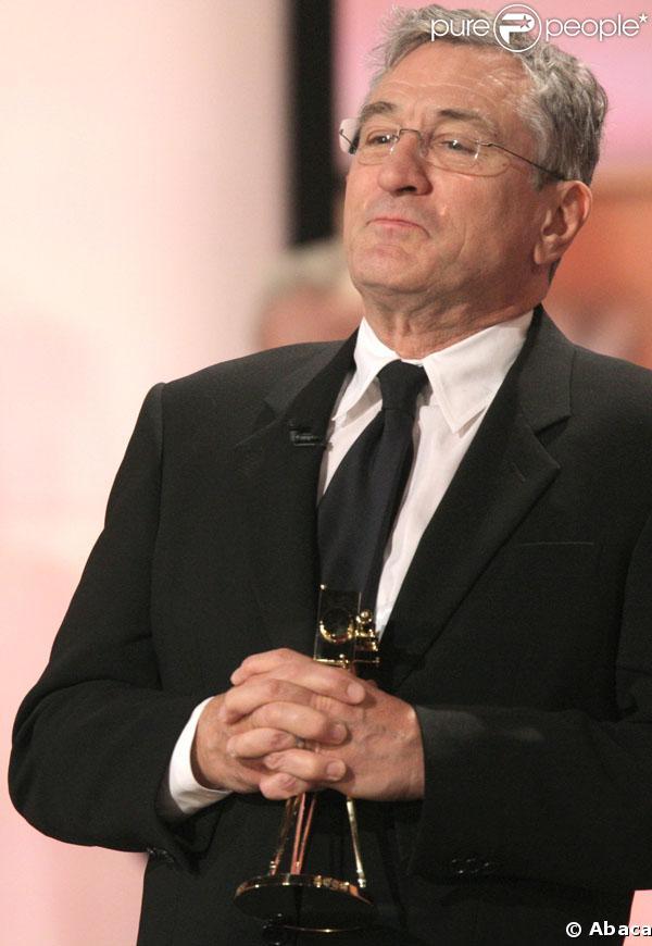 Robert de Niro lors récompensé à Berlin le mois dernier pour l'ensemble de sa carrière