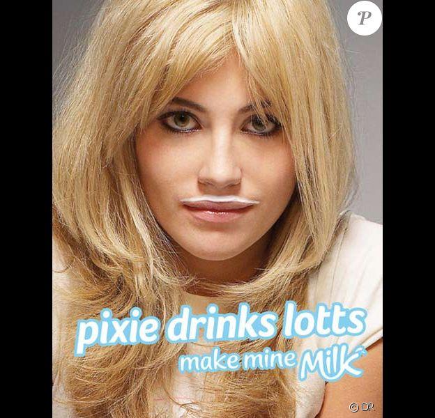 Pixie Lott pour la campagne de pub Make Mine Milk