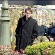Ethan Hawke en tournage à Paris pour La Femme du Vème le 15 avril 2010