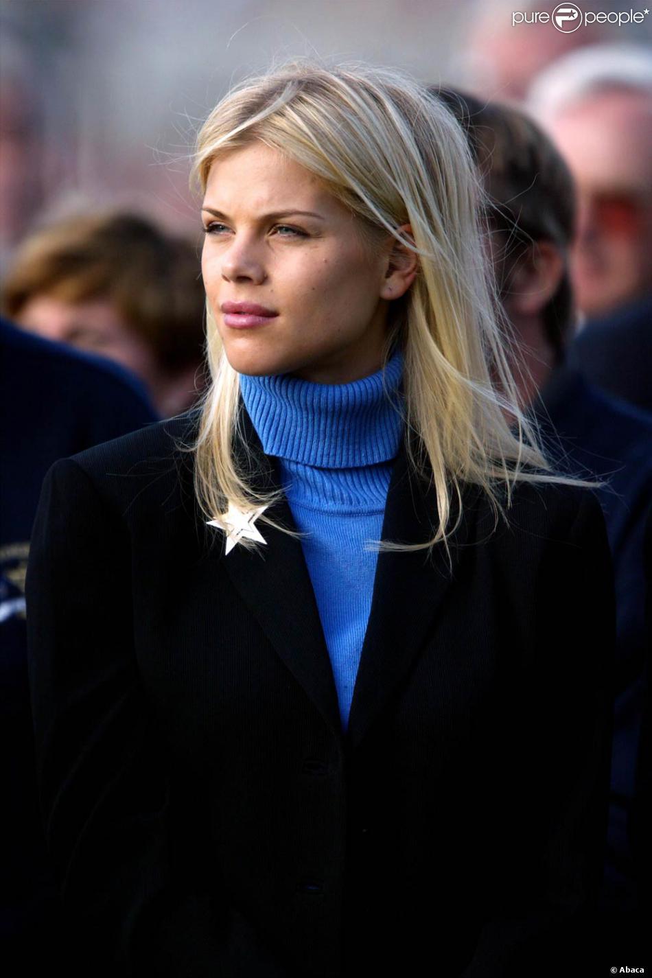 Femme Suedoise la ravissante et ex-mannequin suédois elin nordegren, femme de tiger