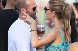 Quand Jason Statham et la sexy Rosie Huntington-Whiteley, amoureux... officialisent !