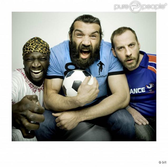 Sébastien Chabal, invité par Omar et Fred pour Bleu, blanc, rouge, a tourné plusieurs vidéos délirantes pour les journées du recyclage d'Orange (22, 23, 24 avril 2010)