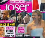 Lorie en couverture de Closer, le 24 avril 2010