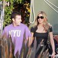 Jennifer Aniston et Adam Sandler sur le tournage du film  Just go with it