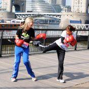 Quand il le faut, Natalie Imbruglia n'hésite pas à boxer la jolie Holly Bronson !
