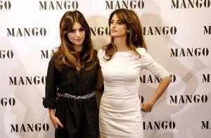 Penélope et Monica Cruz présentent leur collection printemps-été chez Mango