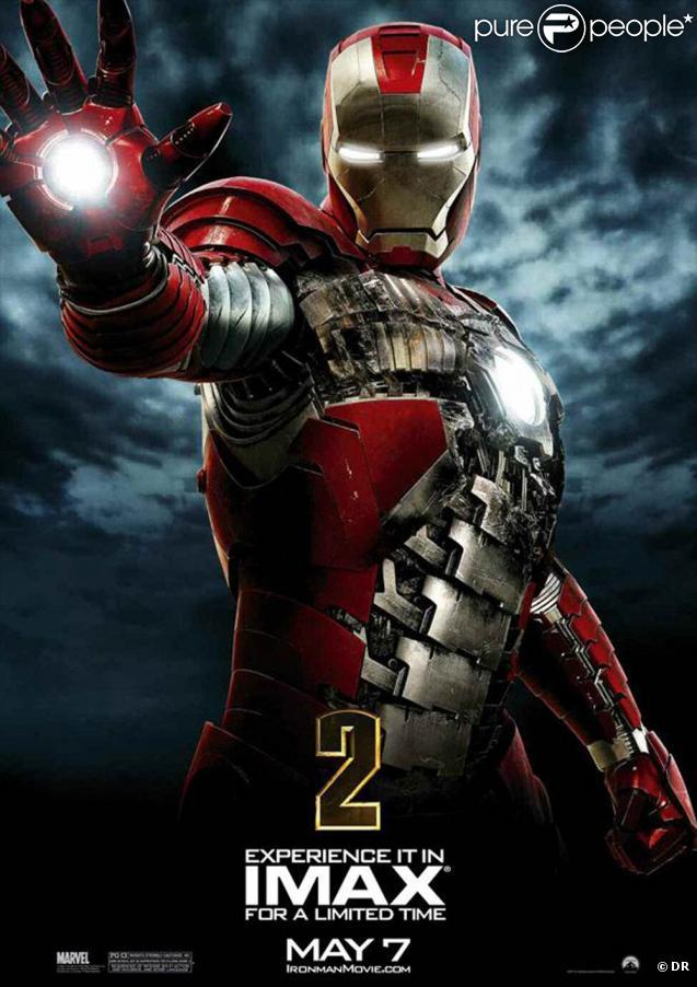 Des images d' Iron Man 2 , en salles le 28 avril 2010.