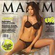 Aida Yéspica en couverture de  Maxim .