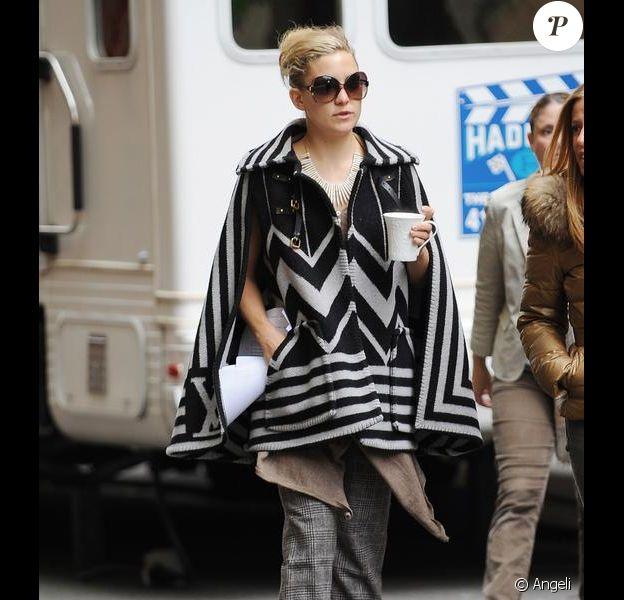 Kate Hudson à New York, le 28 avril 2010
