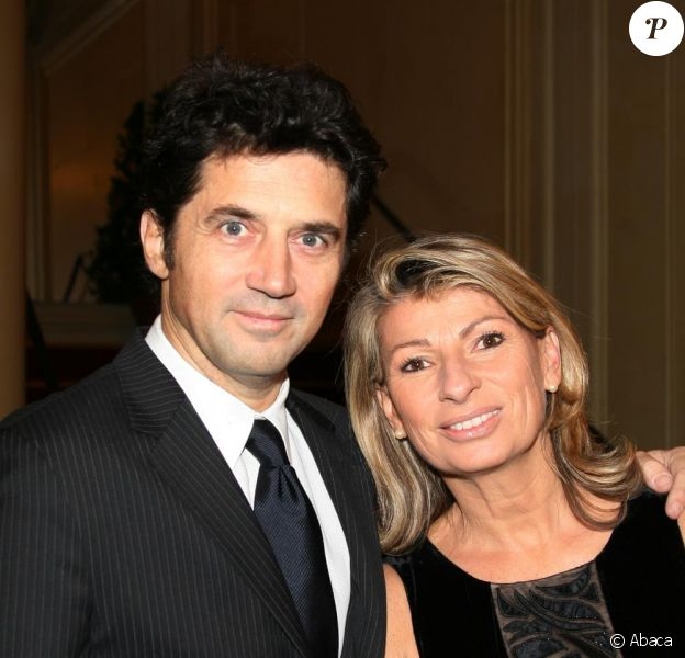 Bruno Madinier et sa femme Camille