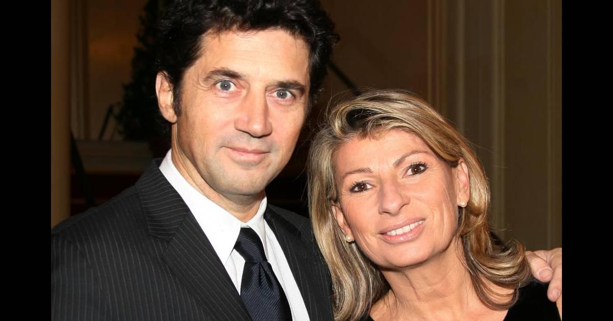 Bruno Madinier Et Sa Femme