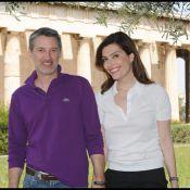 Daphné Roulier et Antoine de Caunes : des amoureux qui font éclater leur complicité dans un décor divin !