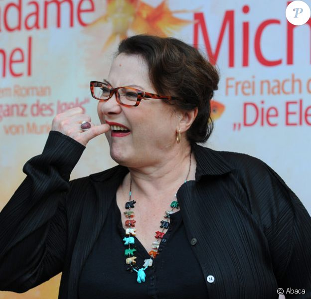 Josiane Balasko présente Le Hérisson à Berlin le 28 avril 2010