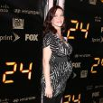 Annie Wersching, à l'occasion de la soirée de fin de la série  24 heures chrono , au Boulevard 3 d'Hollywood, à Los Angeles, le 30 avril 2010.