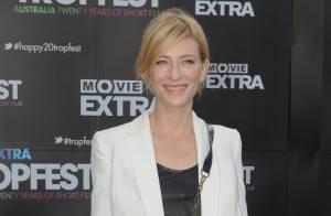 La ravissante Cate Blanchett, une gravure de mode incognito, qui se repose avant la folie cannoise !