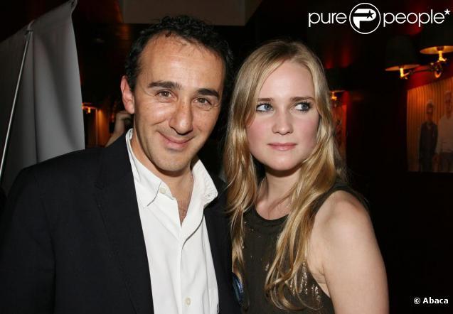 Elie Semoun et Juliette Gernez