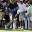 Tiger Woods : si son retour sur les parcours de golf est délicat, comme ici (photo) à Charlotte fin avril, la convalescence de sa famille après la révélation de ses liaisons extra-conjugales l'est encore plus...