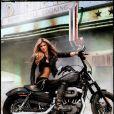 Marisa Miller pour Harley Davidson