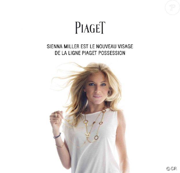 Sienna Miller, nouvelle égérie de la collection Possession de Piaget