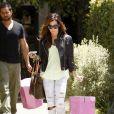 Ashley Tisdale quitte le salon Andy Lecompte à West Hollywood le 13 mai 2010