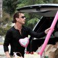 Gavin Rossdale et ses fils lors d'une séance shopping sans maman à los Angeles