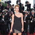 Clotilde Courau lors du tapis rouge du film Biutiful pendant le festival de Cannes le 17 mai 2010