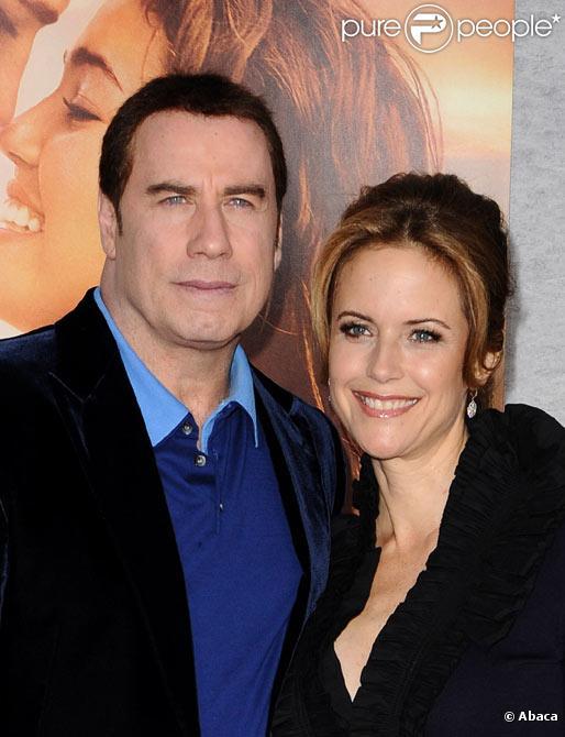 John Travolta et Kelly Preston à Los Angeles en mars 2010