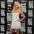 Tapis rouge de la cérémonie des World Music Awards à Monaco le 18 mai 2010 : Victoria Silvstedt !