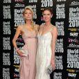 Tapis rouge de la cérémonie des World Music Awards à Monaco le 18 mai 2010 : Paris et Nicky Hilton !