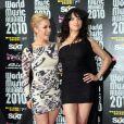 Tapis rouge de la cérémonie des World Music Awards à Monaco le 18 mai 2010 : Hayden Panettiere et Michelle Rodriguez !