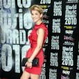 Tapis rouge de la cérémonie des World Music Awards à Monaco le 18 mai 2010 : Clotilde Courau !