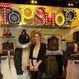 Kate Moss lors de l'inauguration de la toute nouvelle boutique TopShop à Knigtsbridge, le 19 mai 2010