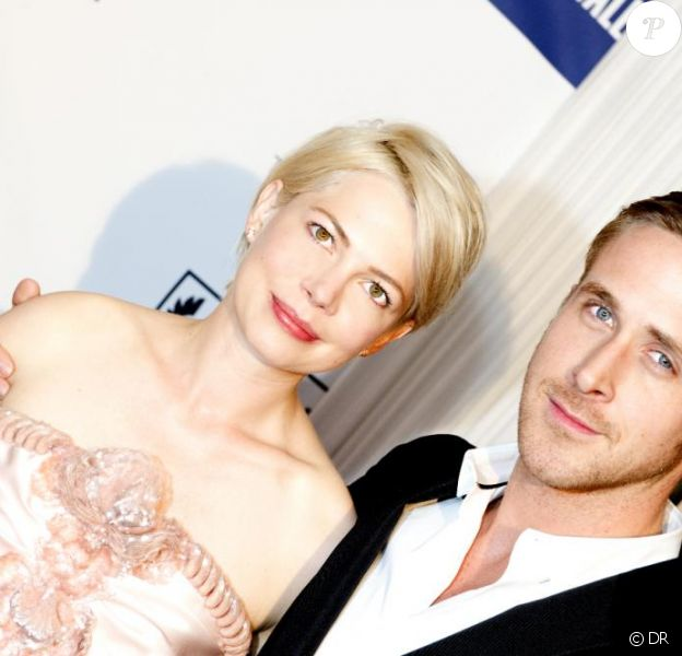 Ryan Gosling et Michelle Williams à la Terrasse du Nikki, sur le toit du Palais Stéphanie, à Cannes, en mai 2010.