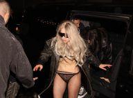 Lady Gaga : A moitié nue en pleine rue, elle n'a jamais été aussi trash !