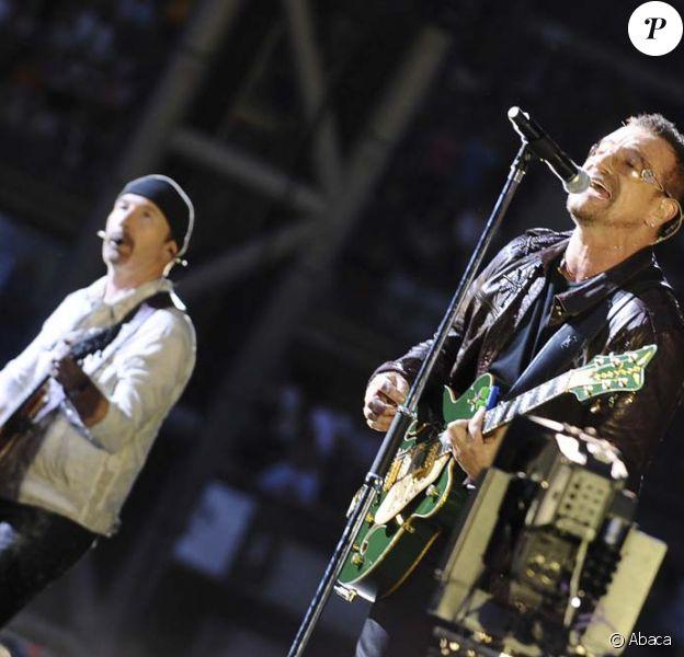 U2 au Stade de France à Paris, le 11 juillet 2010 !