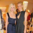 Kirsten Dunst et Gwyneth Paltrow à l'ouverture de la nouvelle boutique Louis Vuitton à Londres le 25 mai 2010