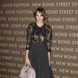 Alexa Chung à l'after-party de l'inauguration Louis Vuitton. Le 25 mai à Londres