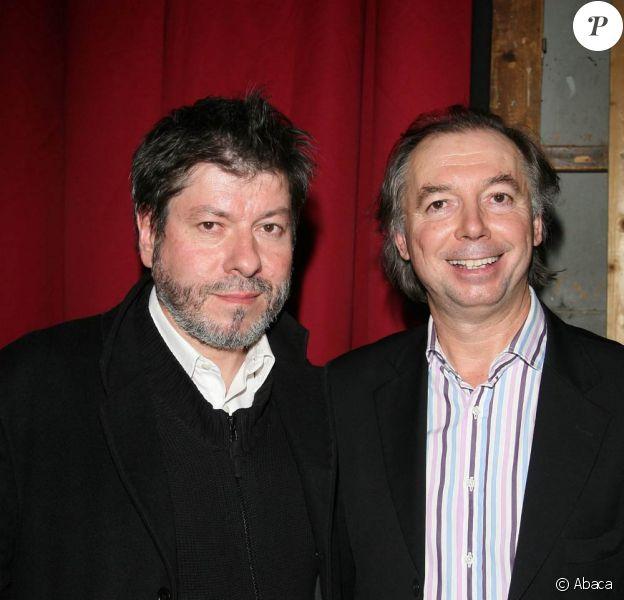 Régis Laspalès et Philippe Chevallier, dès le 3 septembre 2010 au Théâtre des Variétés, à Paris, dans le Dîner de Cons.
