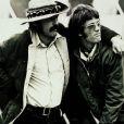 Dennis Hopper et Peter Fonda sur le tournage d'Easy Rider en 1969