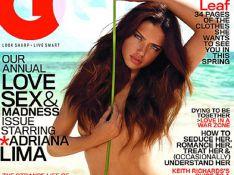 Adriana Lima nue et bronzée... c'est tout !