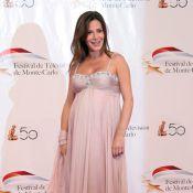 Festival de Monte-Carlo 2010 : Elsa Fayer, très enceinte, Tonya Kinzinger et Sandrine Quétier ont rencontré J.R. Ewing !