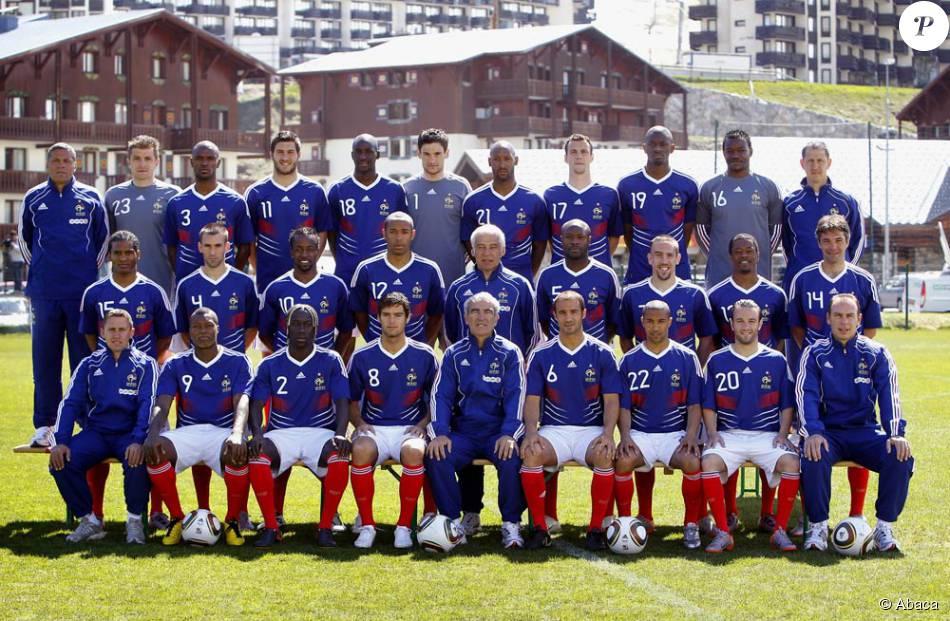 L 39 quipe de france de football entamera sa coupe du monde contre l 39 uruguay le 11 juin 2010 - Coupe de france l equipe ...