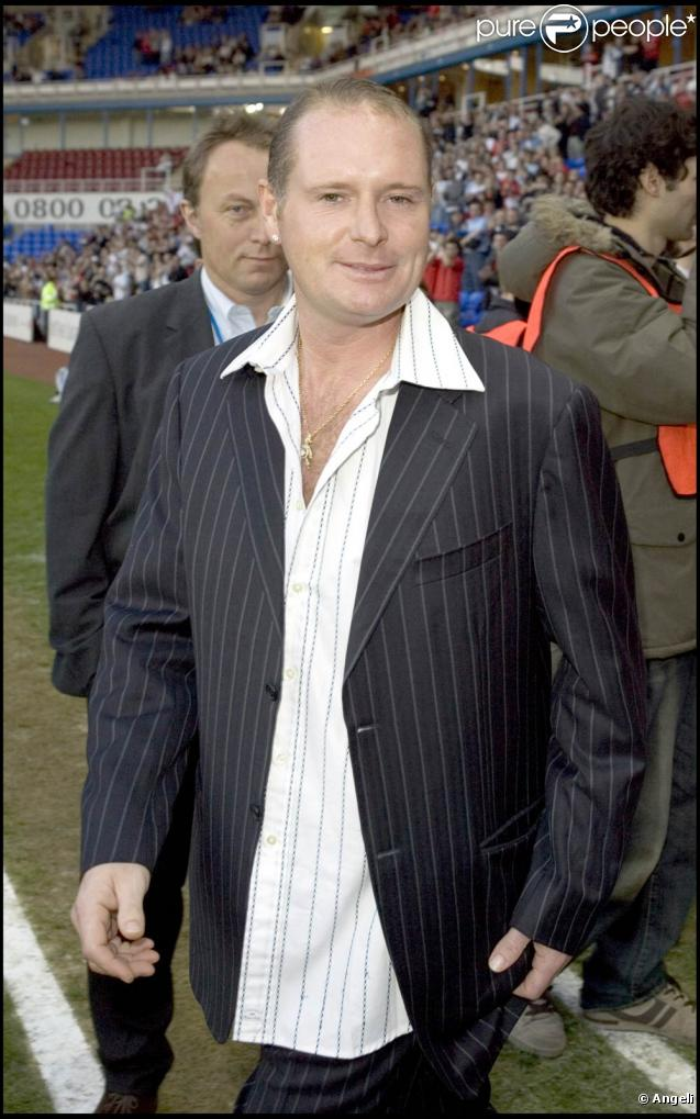 Paul Gascoigne victime d'un accident de la route à Newcastle, le 13 juin 2010.