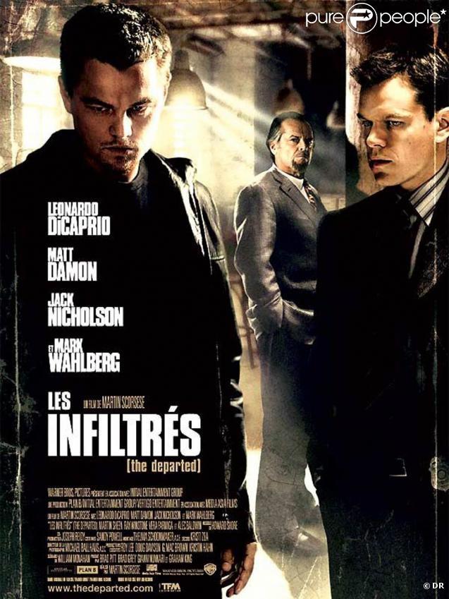 Des images des  Infiltrés , le film aux quatre Oscars de Martin Scorsese, sorti en 2007.