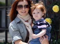 Alyson Hannigan et sa petite Satyana : les deux font la paire !