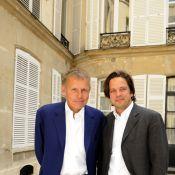 Patrick Poivre d'Arvor et son fils Arnaud réunis pour un déjeuner père/fils des plus prestigieux !