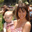 Constance Zimmer avec sa fille Colette en juin 2008, à Los Angeles