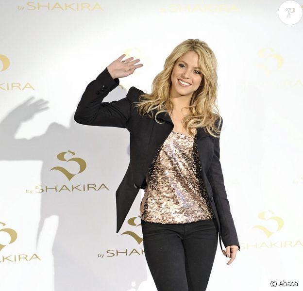 De passage par Madrid, en Espagne, Shakira présentait, au centre commercial Palacio Santa Barbara, son nouveau parfum S By Shakira, ce mardi 22 juin.