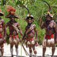 La tribu des hulis (Papouasie-Nouvelle Guinée)