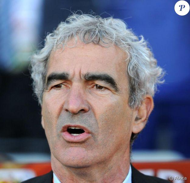 Raymond Domenech, sélectionneur de l'équipe de France.